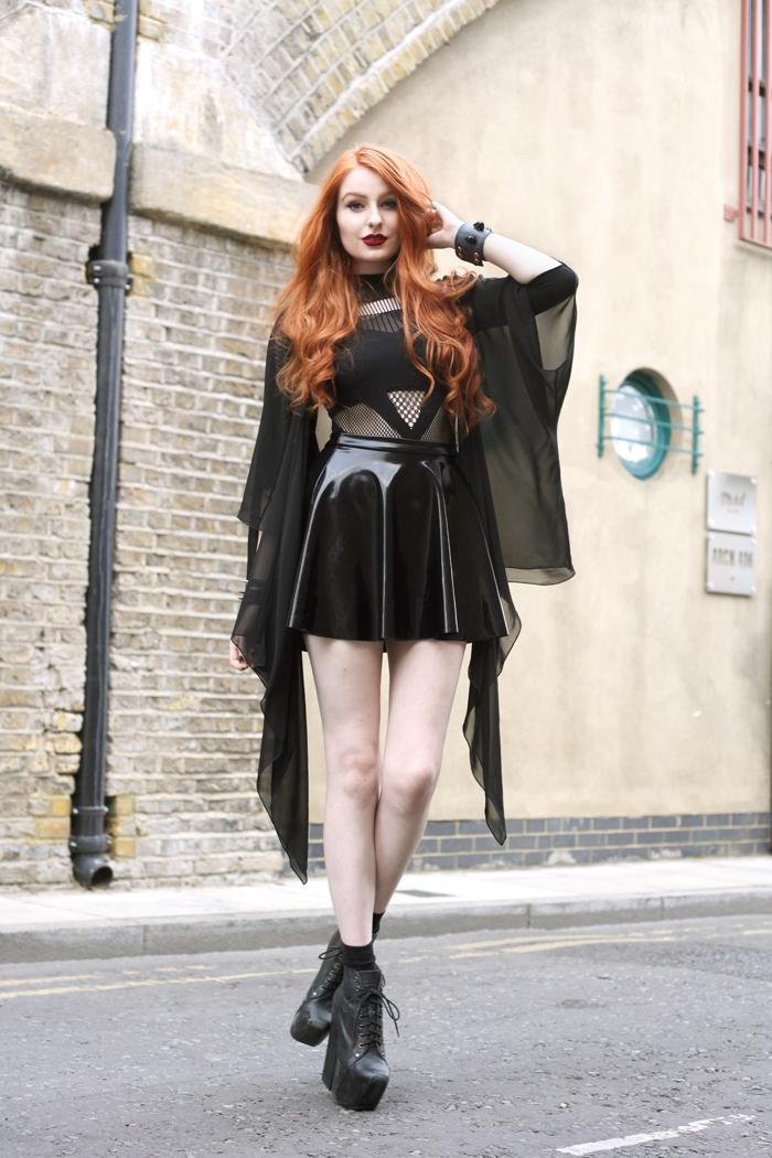 Triple. - Olivia Emily Black Suit Styles