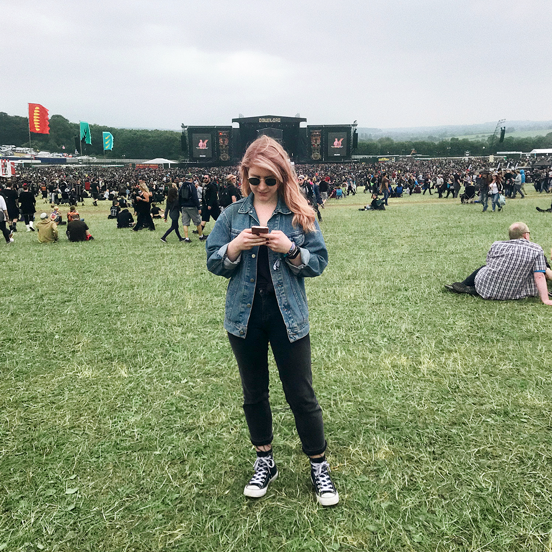 Olivia Emily Download Festival