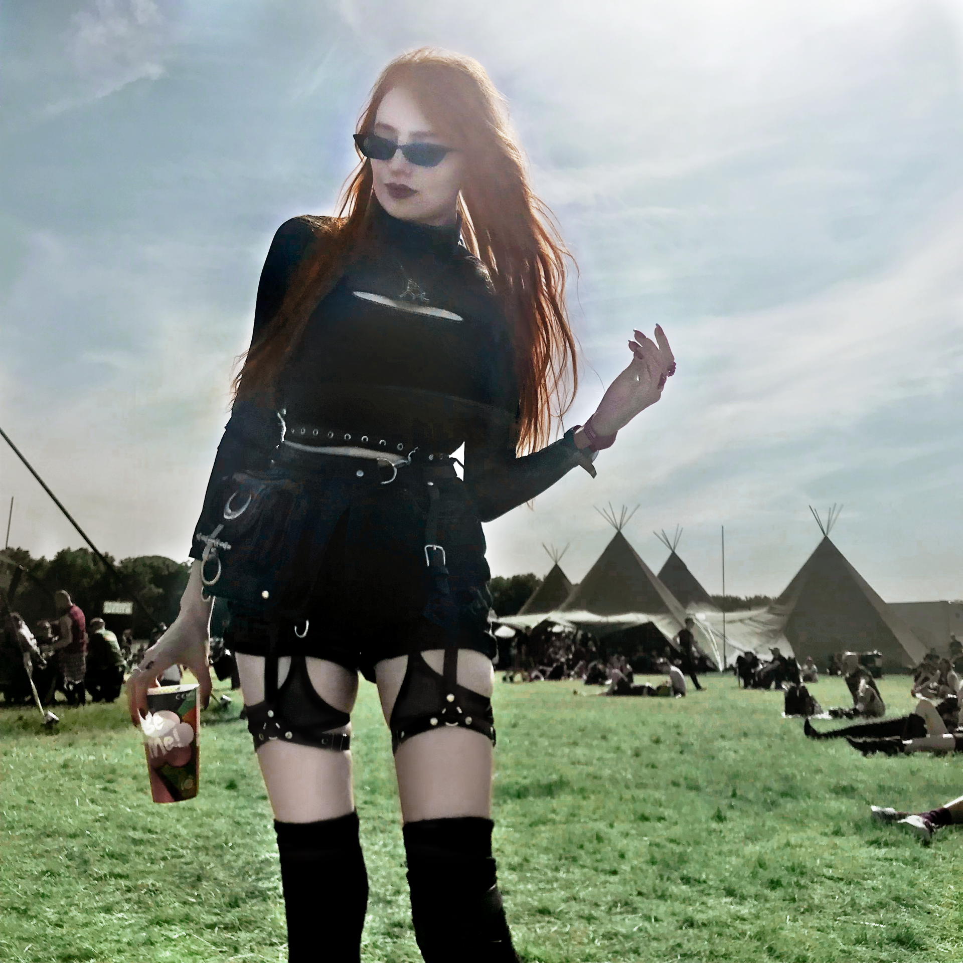 Olivia Emily Download Festival Outfit